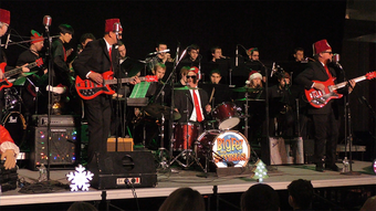 Jazz at Rensselaer‎: Big Swells and Jingle Bells